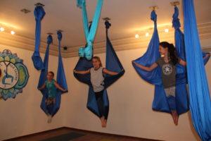 Уровни занятий йога на гамаках в нашем Центре Аэройоги в Санкт-Петербурге.